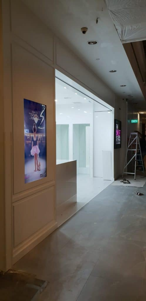 drywall partition contractor singapore
