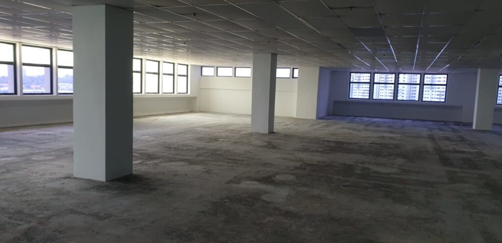 office reinstatement quotation singapore